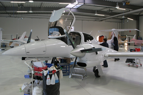 With the diagnostics done, the aircraft is essentially complete - and just in time for a wash to clean up residue, oil and fingerprints. Once fully done in the factory, it will be flight tested by a test pilot to see whether everything actually works in flight, which will also give the engines a chance to deconserve