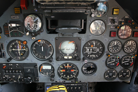 Not much of a motive, but the cockpit isn't all that big and I'm not really the shortest person in the world :). This was about the only angle that worked...