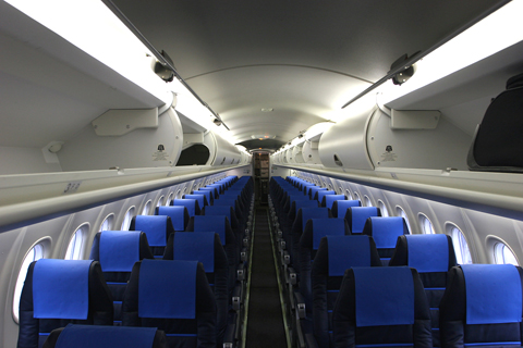 Many thanks to the cabin crew for allowing me a final snap of the cabin once all those walking distractions have left!