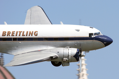 Completing the Breitling offensive was their immaculate DC-3