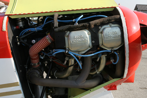 """Progressing upwards is the Super Cub's most common engine, the 150 HP Lycoming O-320. Some versions - most notably those used in mountaneous areas such as the Alps - have been uprated to 180 HP, a pretty chunky amount of power for the light and """"lifty"""" Super Cub"""