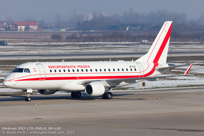 The biggest visitor though would fly in from Poland - with this not even being its first time at Zagreb. Together with its sister ship SP-LIH, LIG is actually owned by Polish flag carrier LOT - but is operated on behalf of the country's government.