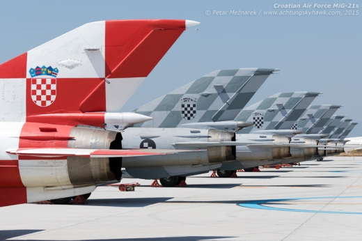 A sight that had - sadly - mostly gone from Europe's skies. Among the last operational -21s on the continent, Croatian examples may eventually outlive all their contemporaries - though their respite from the chopping block is only short-lived...
